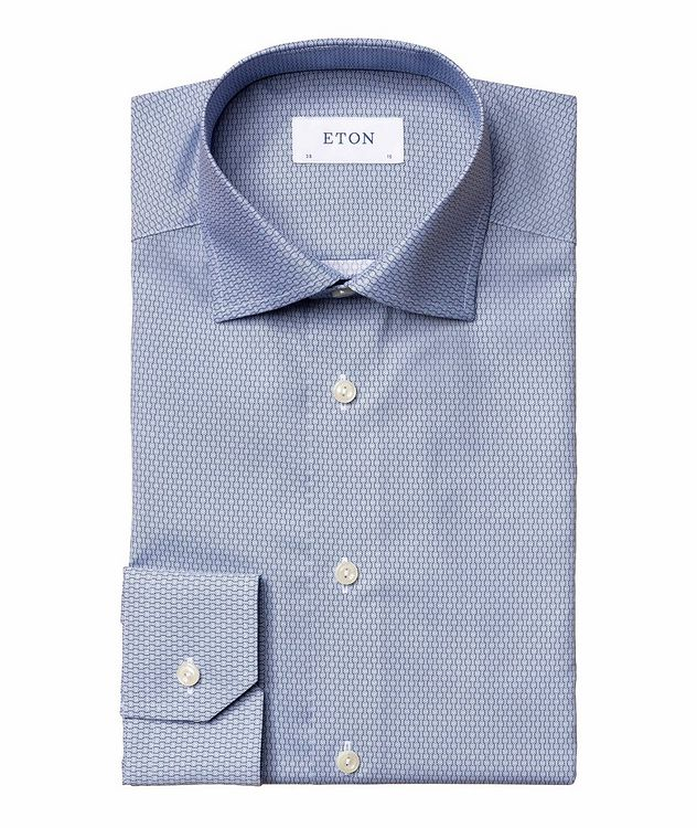 Slim Fit Diamond-Deco Dress Shirt picture 1
