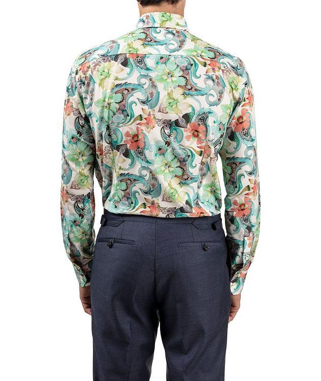 Slim Fit Botanical Dress Shirt picture 3