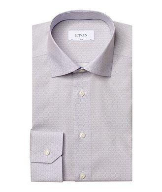 Eton Slim Fit Art Deco Dress Shirt