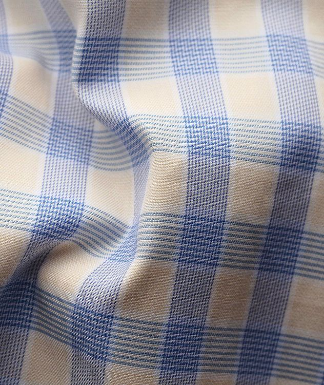 Slim Fit Gingham Dress Shirt picture 3