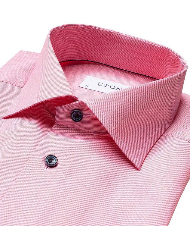 Chemise habillée texturée de coupe amincie picture 2