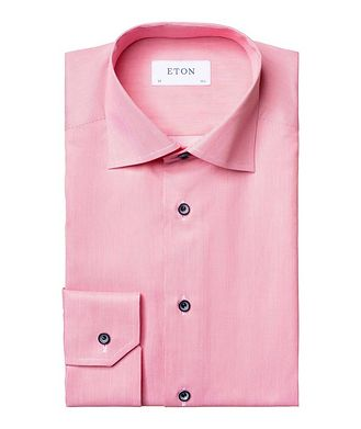 Eton Slim Fit Textured Dress Shirt