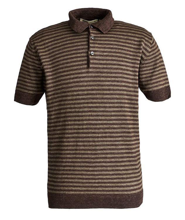 Striped Linen Polo picture 1