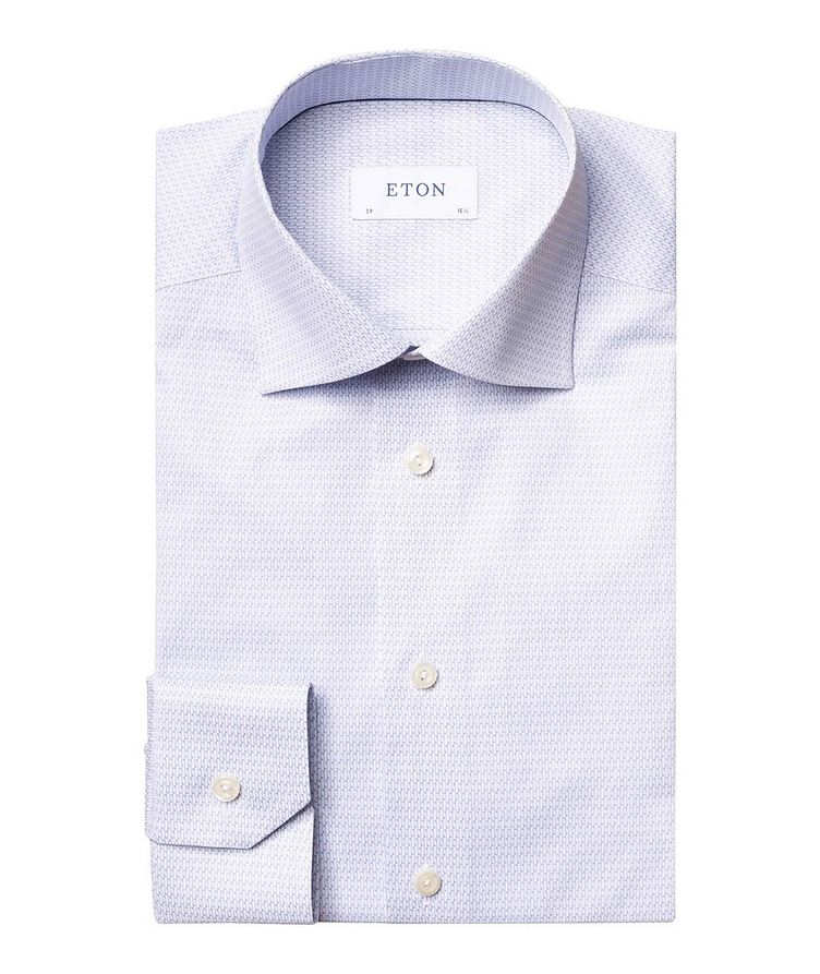 Contemporary Fit Music Note Dress Shirt image 0