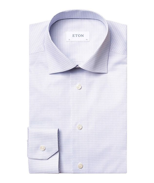Contemporary Fit Music Note Dress Shirt picture 1