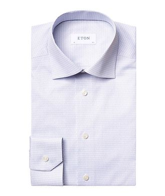 Eton Contemporary Fit Music Note Dress Shirt