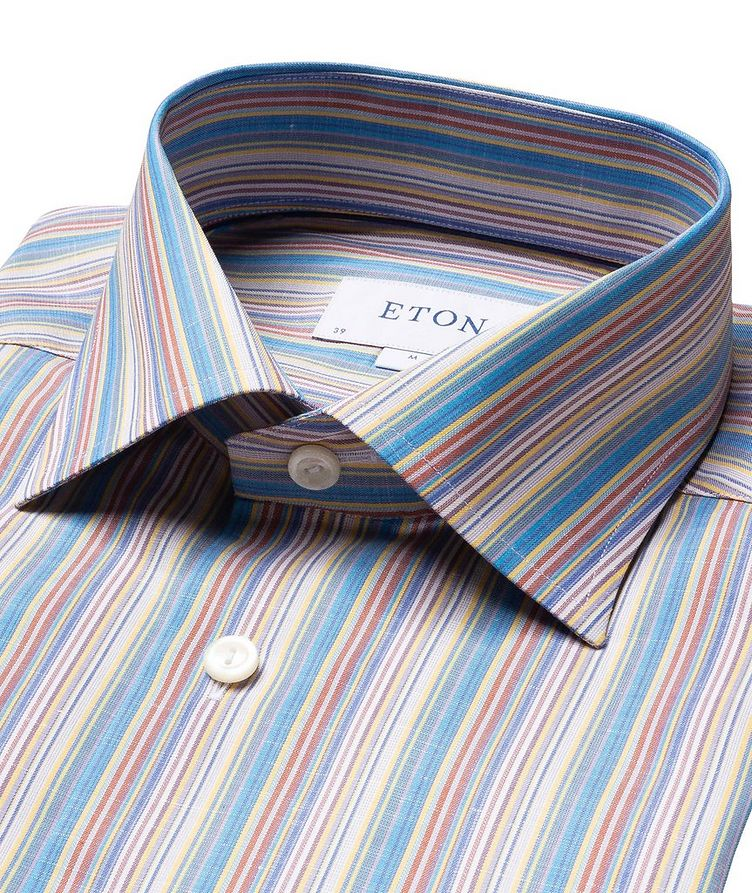 Contemporary Fit Striped Dress Shirt image 1