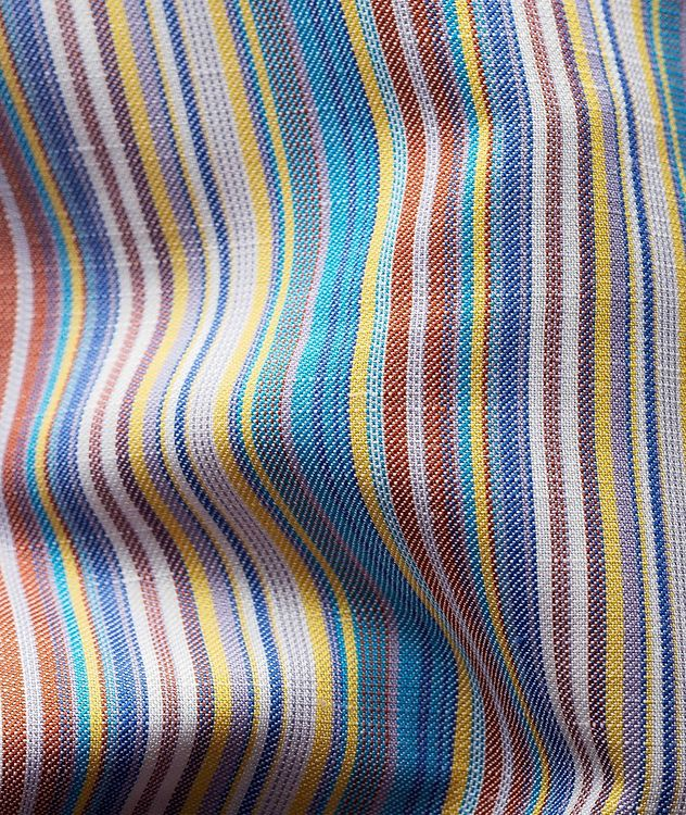 Contemporary Fit Striped Dress Shirt picture 3