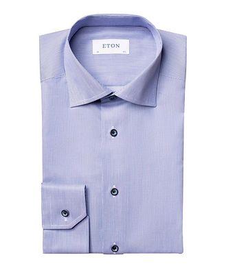Eton Contemporary Fit Textured Dress Shirt