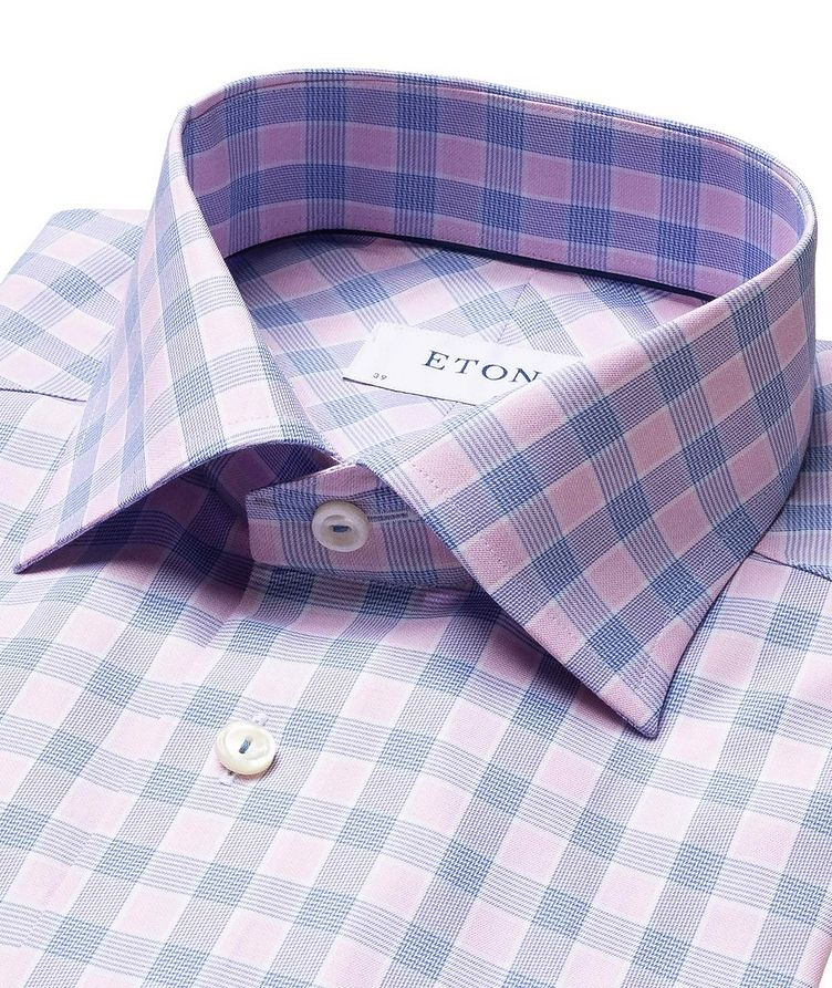 Contemporary Fit Checked Dress Shirt image 1