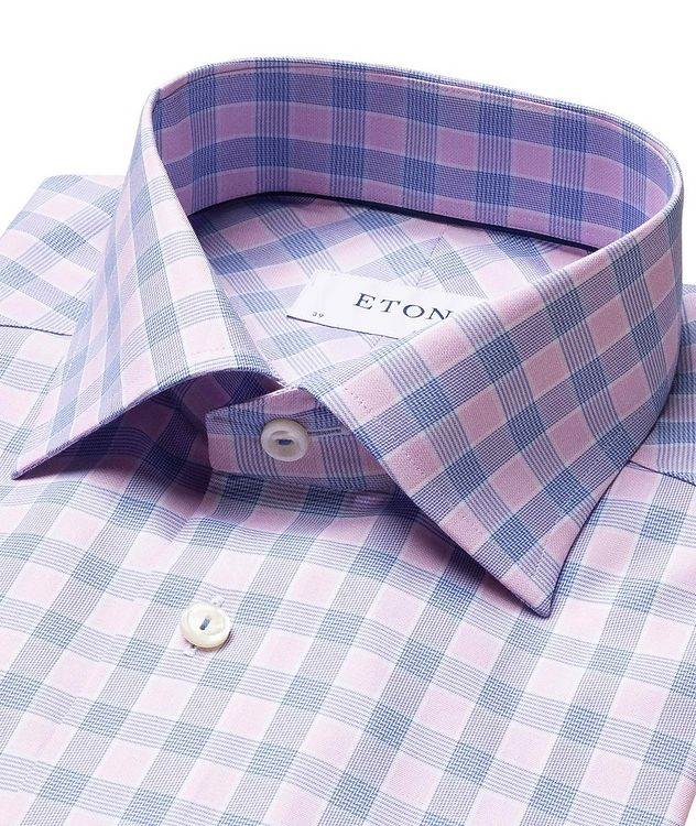 Contemporary Fit Checked Dress Shirt picture 2