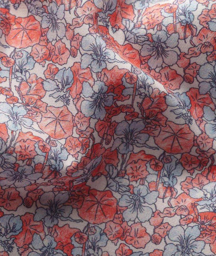 Slim Fit Botanical Dress Shirt image 2