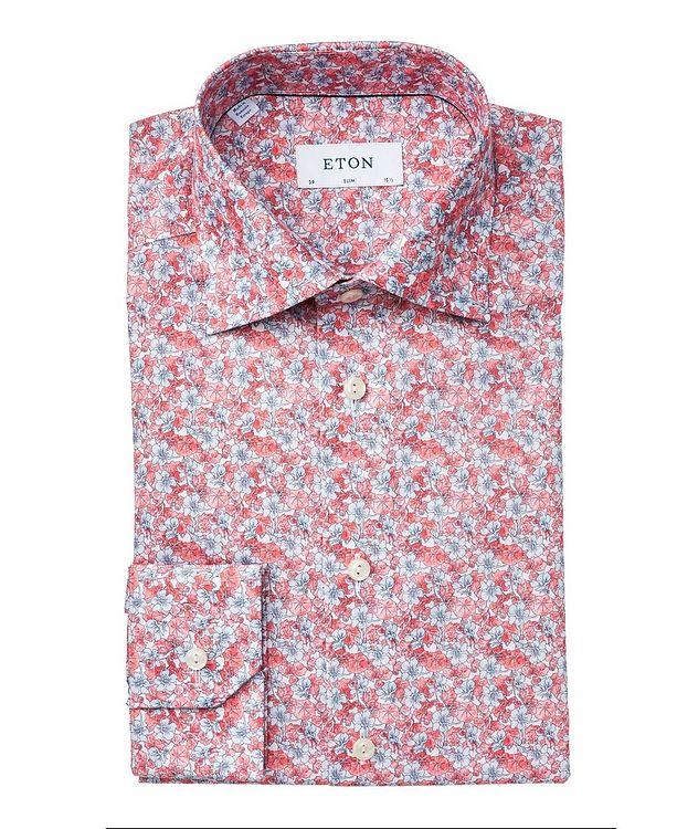 Slim Fit Botanical Dress Shirt picture 1