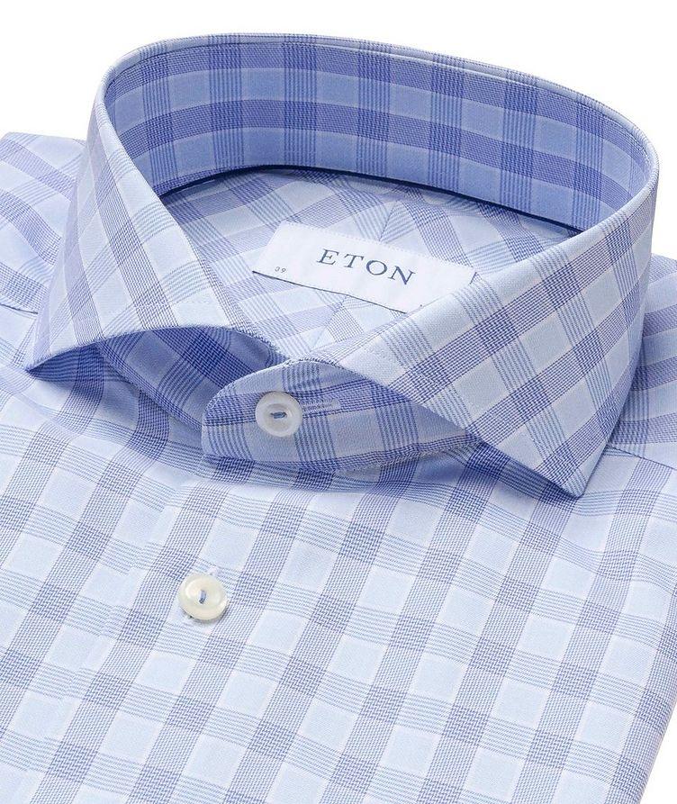 Slim Fit Checked Dress Shirt image 1