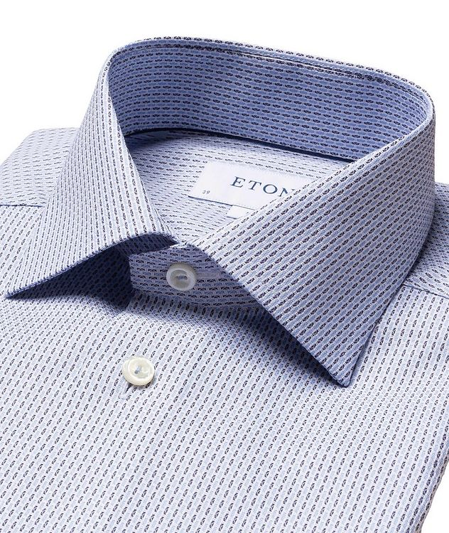 Slim Fit Striped Dress Shirt picture 2