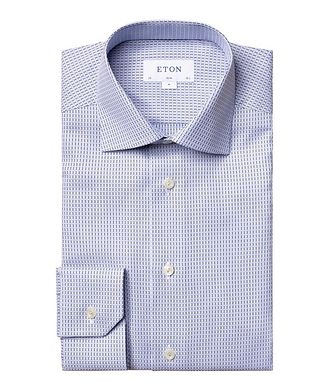 Eton Slim Fit Striped Dress Shirt