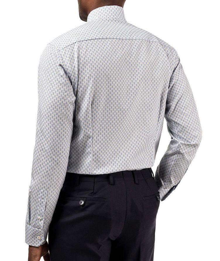Slim Fit Printed Dress Shirt image 2
