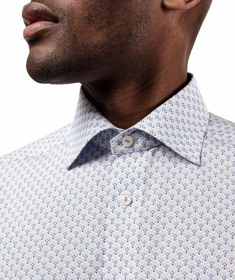 Slim Fit Printed Dress Shirt image 3