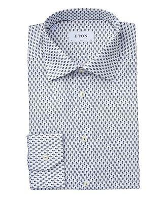 Eton Slim Fit Botanical Dress Shirt