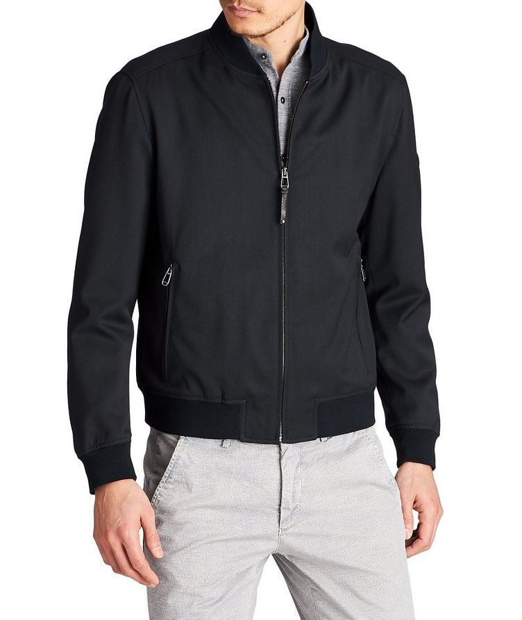 Indro Wool-Blend Bomber image 0
