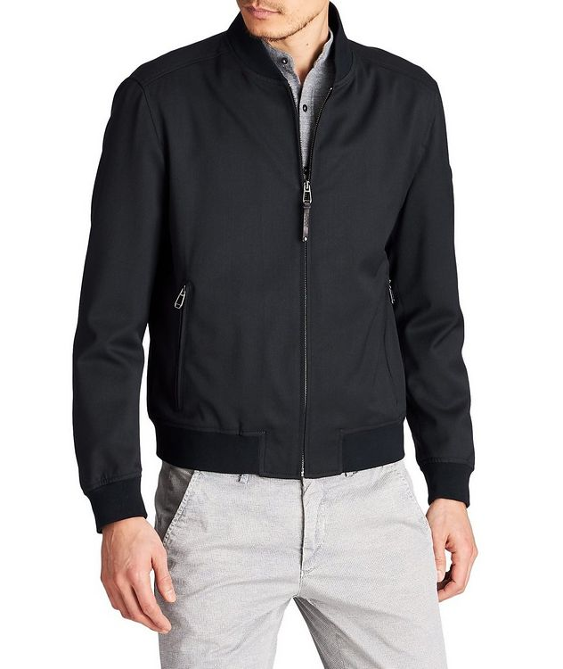 Indro Wool-Blend Bomber picture 1