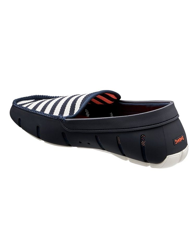 Striped Venetian Loafers image 1