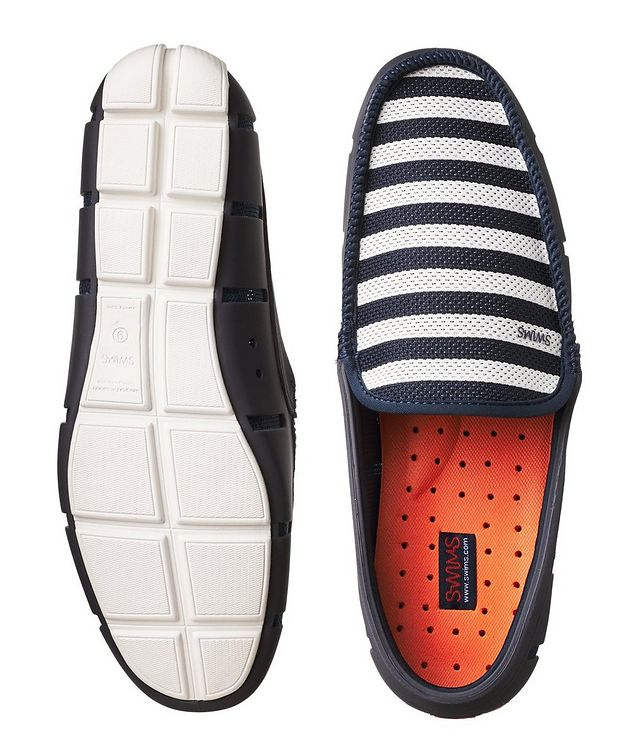 Striped Venetian Loafers picture 3