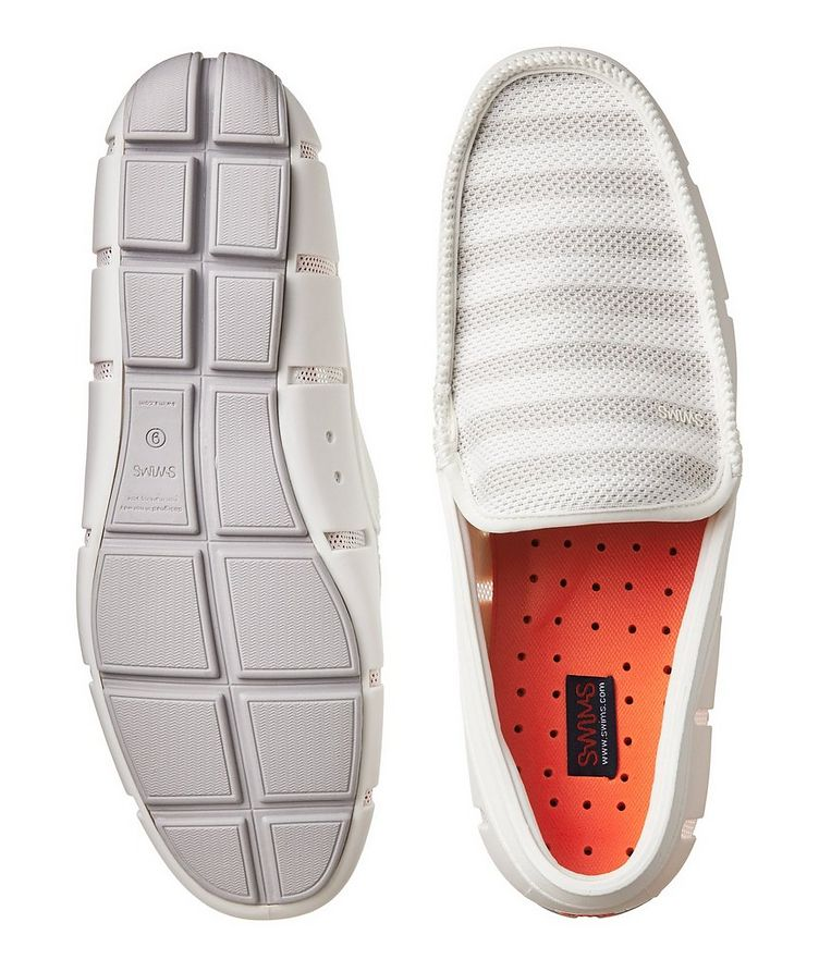 Striped Venetian Loafers image 2