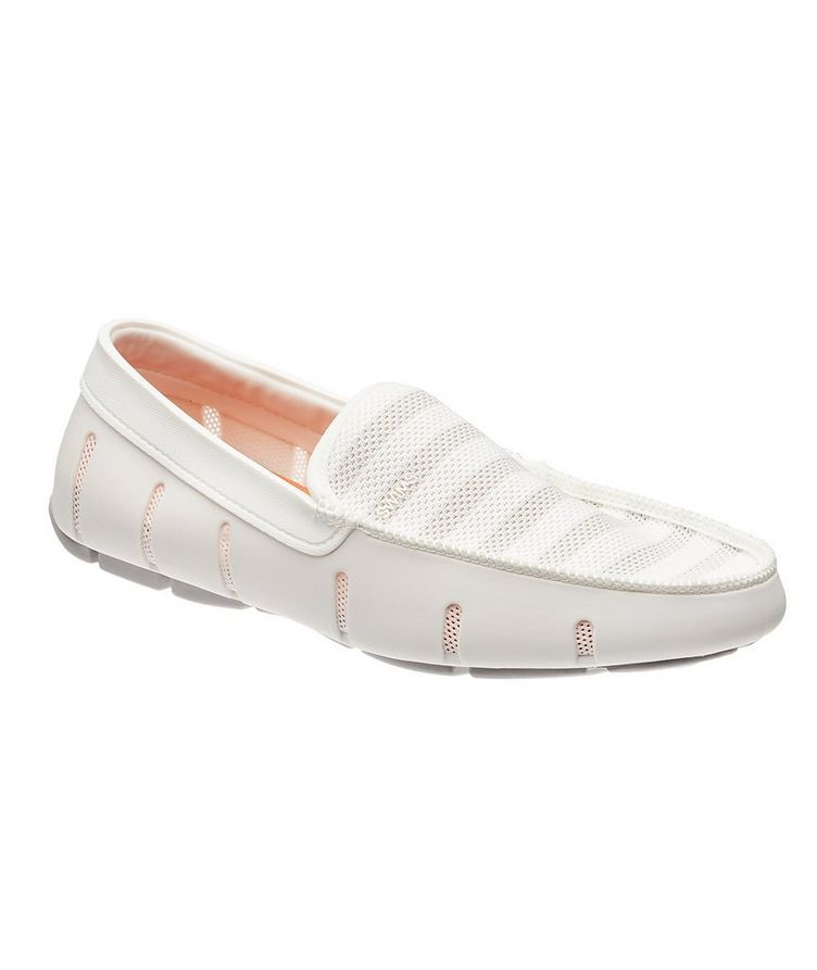 Striped Venetian Loafers image 0