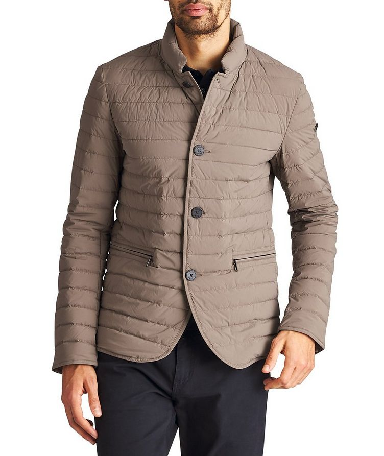 Jamie Quilted Down Sports Jacket image 0
