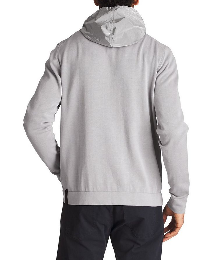 Knit Cotton Hoodie image 1