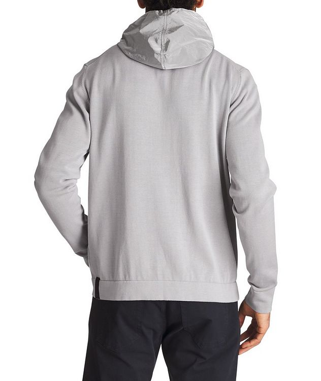 Knit Cotton Hoodie picture 2