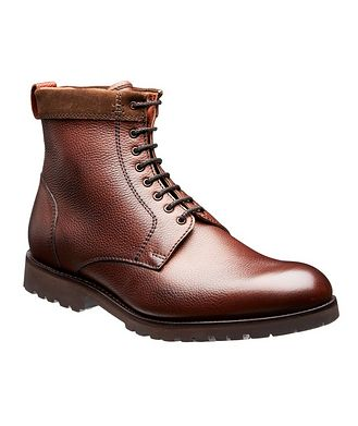 Barker Premium Chatsworth Fur-Lined Boots