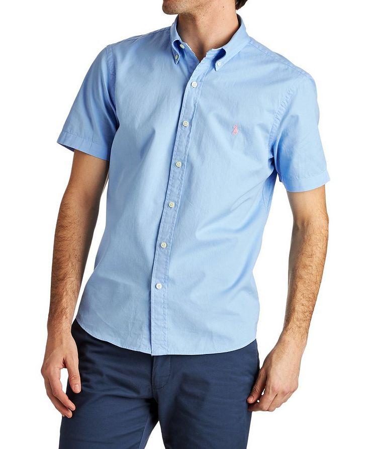Short-Sleeve Cotton Shirt image 0