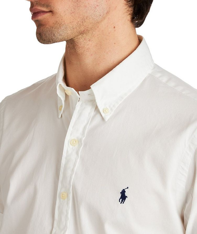 Short-Sleeve Cotton Shirt image 1