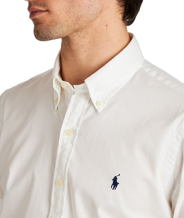 Short-Sleeve Cotton Shirt picture 2