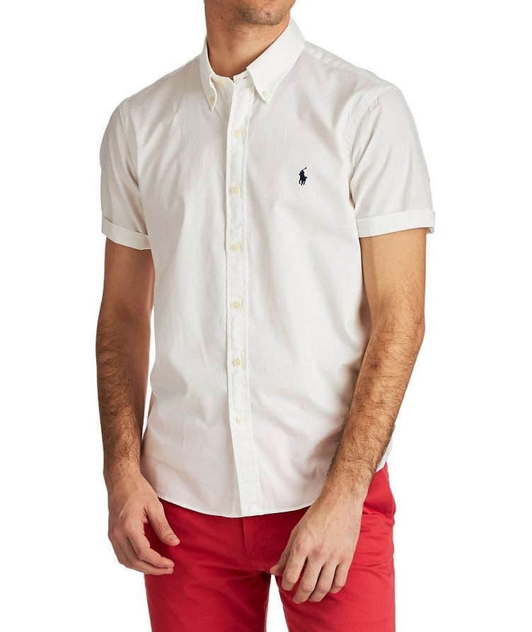 Short-Sleeve Cotton Shirt image 0