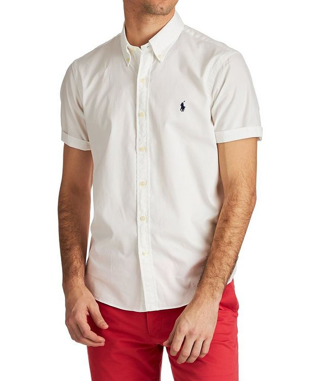 Short-Sleeve Cotton Shirt picture 1