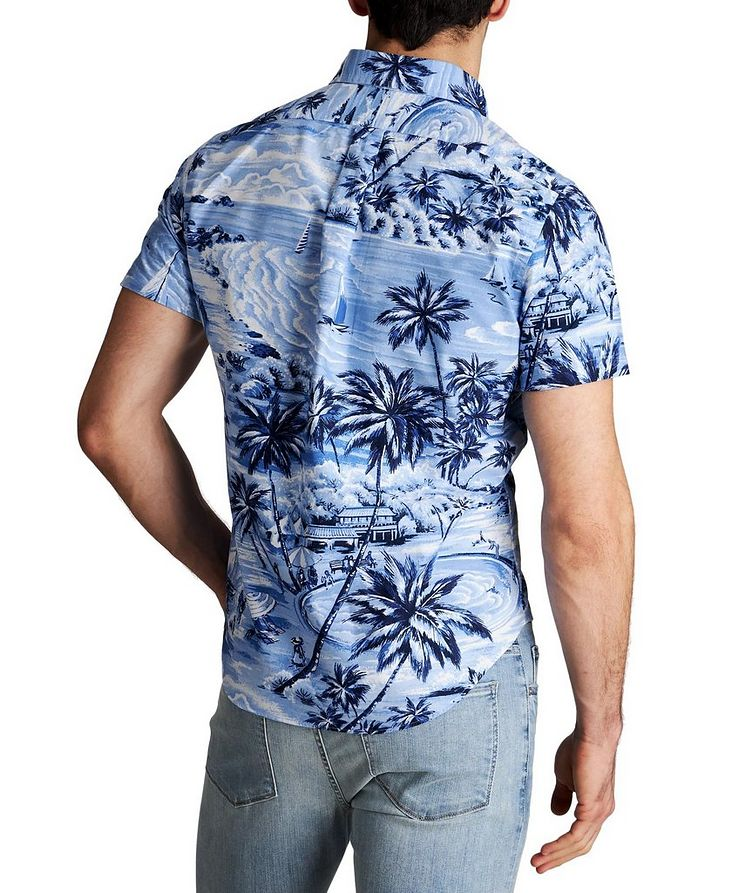 Short-Sleeve Printed Cotton Shirt image 1