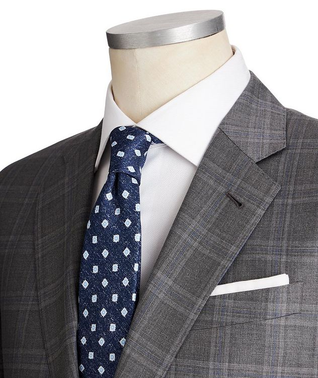 Soft Glen Checked Suit picture 2