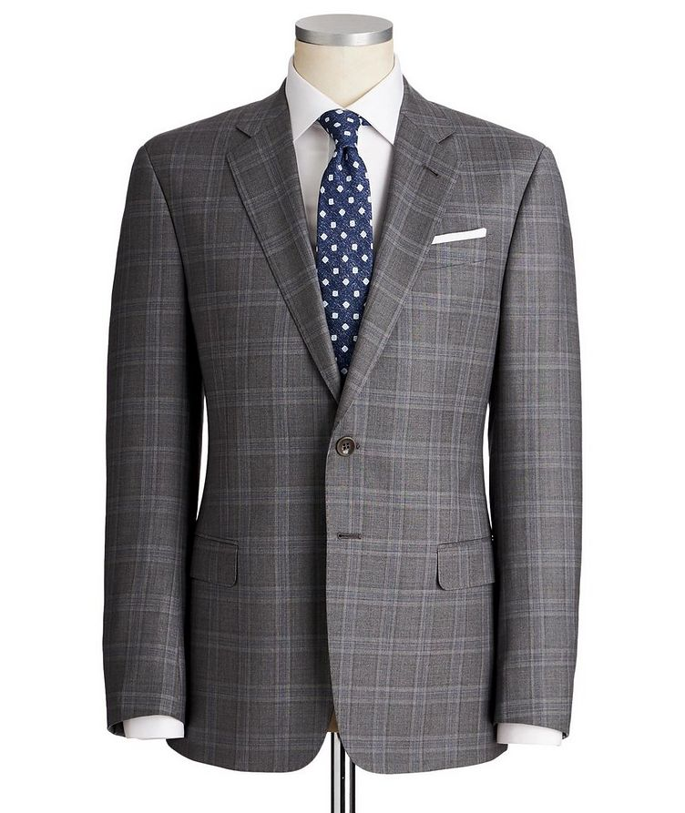 Soft Glen Checked Suit image 0
