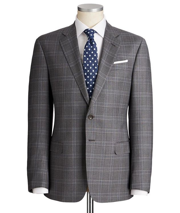 Soft Glen Checked Suit picture 1