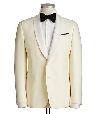 Giorgio Armani Soft Wool-Silk Tuxedo Jacket