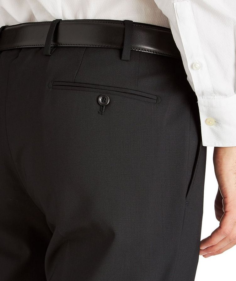 Stretch-Virgin Wool Trousers image 2
