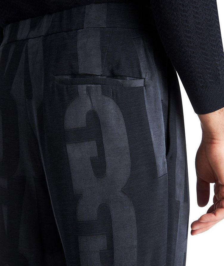Monogrammed Trousers image 2