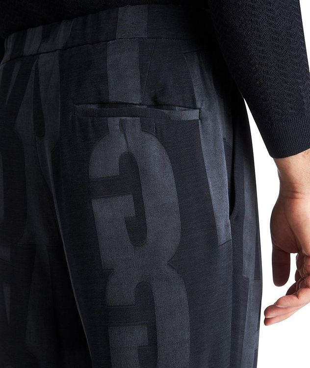 Monogrammed Trousers picture 3