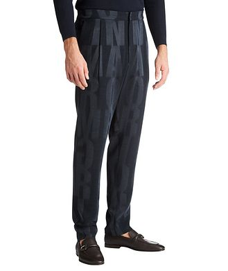 Giorgio Armani Monogrammed Trousers