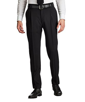 Giorgio Armani Pleated Wool Pants