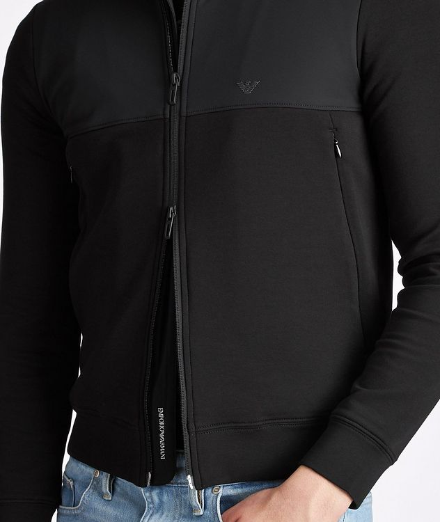 Travel Essentials Cotton-Blend Sweatshirt picture 3