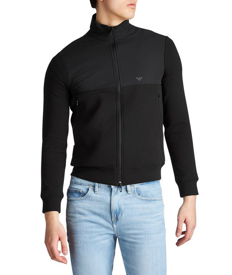Travel Essentials Cotton-Blend Sweatshirt image 0
